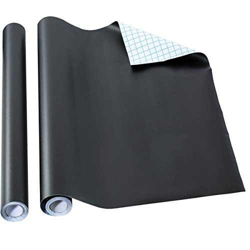 Home-it Self Adhesive Chalkboard, Shelf Liner, Contact Paper, 18 by 16 Inch, 2 Pack