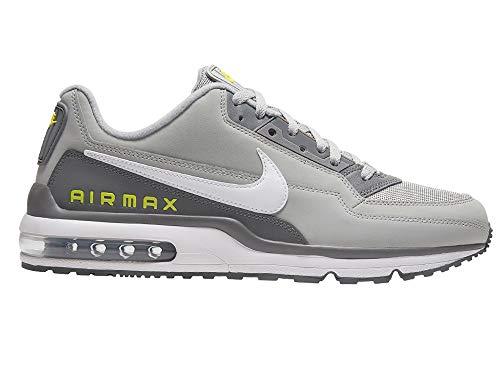 Nike Mens AIR MAX LTD 3 Running Shoe, Lt Smoke Grey/White-Smoke Grey