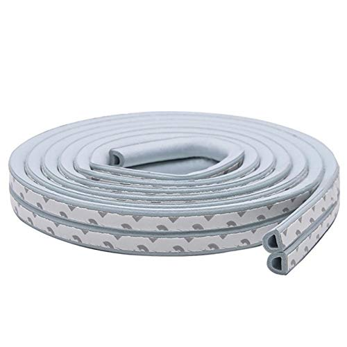 JJK Draft Stopper 10M Type Self Adhesive Door Sealing Strips Self Adhesive Window Foam Wind Waterproof Dustproof Sound Insulation Tools This Will Better Improve Your Quality of Life