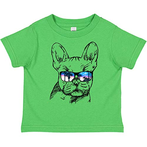 inktastic French Bulldog Portrait with Toddler T-Shirt 4T Apple Green 2a719