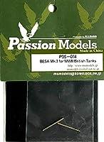 ■ パッションモデルズ 【絶版】 1/35 イギリス戦車 BESA Mk.Ⅲ 機銃 2本セット PE35-014