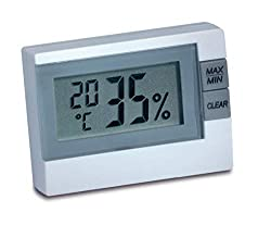TFA Dostmann Digital Thermo-Hygrometer, 30.5005, for room climate control