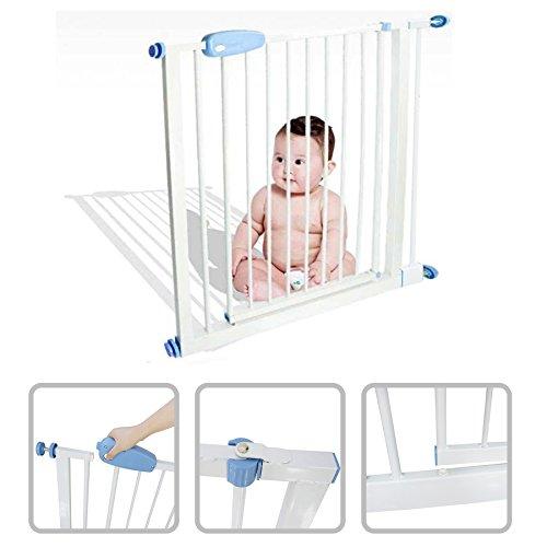 Todeco - Barrera de Seguridad para Bebés, Barrera de Seguridad para Puerta...