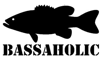 Bassoholic Bass Fishing Fisherman Transfer tattoos tattooing temporary tattoos Cute Face stickers