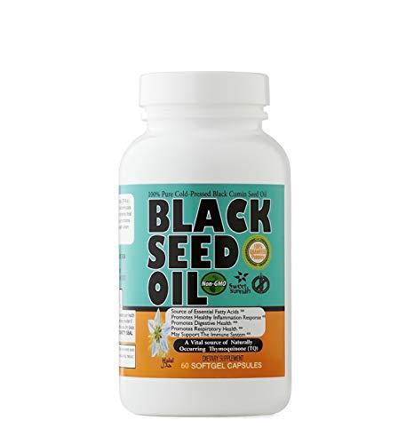 Premium Black Seed Oil - Antioxidant Black Seed Oil Cold Pressed Capsules - 2.20% Thymoquinone Black Cumin Seed Oil Softgel - Easy to Use Nigella Sativa Capsules – 90 Blackseed Oil Caps Sweet Sunnah