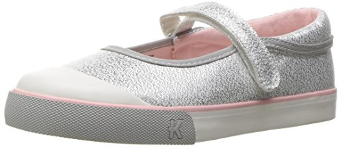See Kai Run Baby Girls Marie Silver Glitter Jane, 2 Infant