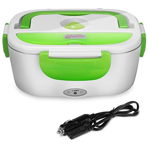 YISSVIC Boîte Chauffante 12V Lunch Box Chauffante Électrique Boîte Alimentaires Boîte Repas en Acier Inoxydable pour Chauffage dans La Voiture