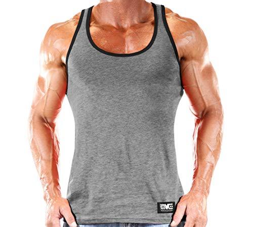 Workout Clothes Tank Top - Grey -