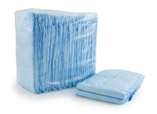 McKesson Large Blue Briefs Diapers 45 to 58 Inch Waist/Hip - Case of 72