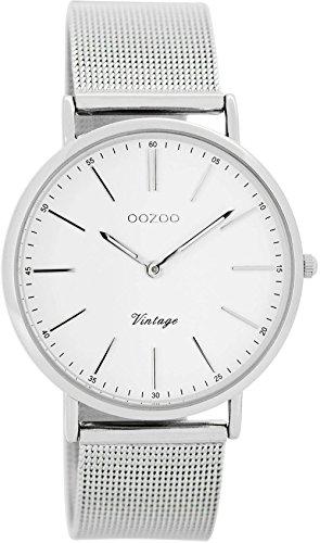 Oozoo Damenuhr Digital Quarz mit Edelstahlarmband – C7395