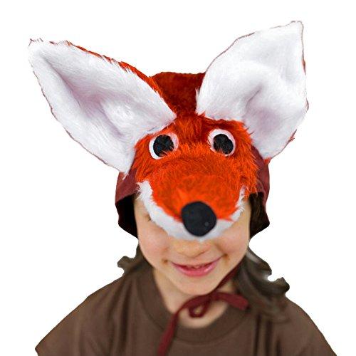 Krause & Sohn Chapeau Enfants Contes Renard Coiffure Animaux Fox Carnival, Standard