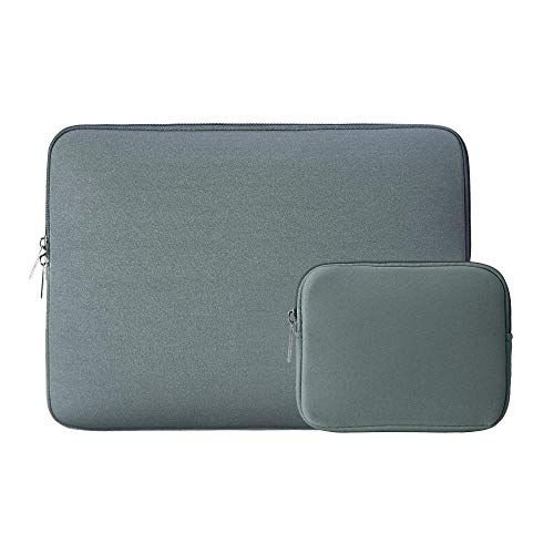 Mazu Homee Funda para tablet compatible con MacBook Pro de 13 a 13,3 pulgadas, MacBook Air, bolsa de neopreno impermeable con caja pequeña, varios colores