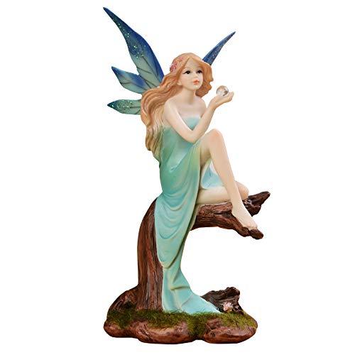 Glover Decoración de muñecas de Escritorio habitación de niña Creativa decoración del hogar ángel Elf decoración Regalo Regalo