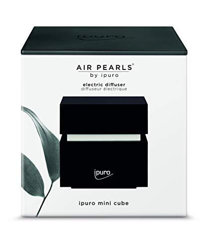 ipuro Air Pearls Mini Cube - Extra leiser Aroma Diffuser zum selbst befüllen - Elektronischer Raumduft für große Räume - Perfekt für Zuhause, Büro, Yoga und Wellness