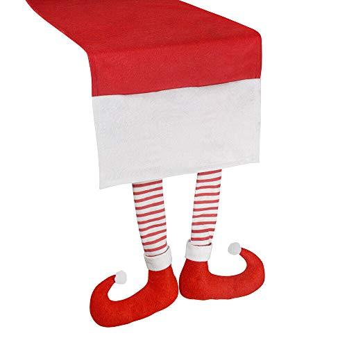 PMS Tischläufer, Motiv: Weihnachtself, 30 x 176cm, Baumwolle (1318009)