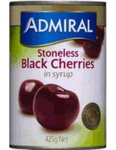 Admiral Cherry Sugarless Black Sirup 425gm