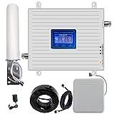 4G 3G 2G LTE GSM 900 1800 2100 MHZ 4G 3G 2G 3-banda LTE GSM 900 1800 2100 MHZ ripetitore del segnale del telefono cellulare banda 8 3 1