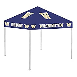 Washington Huskies pop up tailgate Canopy Tent with ncaa logos for sale