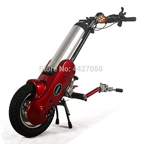MEICHEN Hochwertige Mode 12-Zoll-Elektro-Antrieb Handbike vorne für die manuellen Sportrollstuhl (Nicht enthalten Rollstühle),Connectonbothside