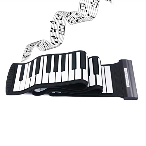 Great Features Of FREEL 88-Keys Roll Up Piano,Flexible Foldable Portable Rechargeable Electronic Han...