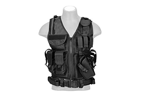 tactical vest for women Lancer Tactical Cross Draw Tactical Vest