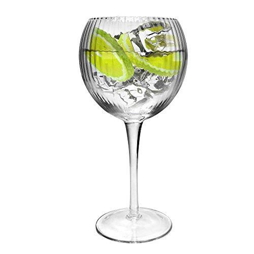 Ginsanity Retro Hayworth Coupe de Verres Gin & Tonic Ballon Cocktail/Lunettes dans Une Boîte Cadeau [585ml]