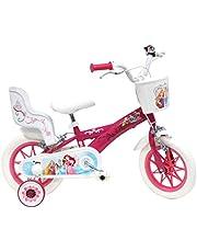 Disney Princess barncykel flickor, flera färger, 30 cm