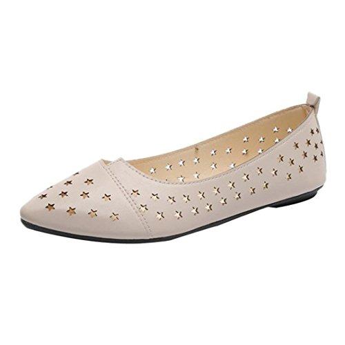 Covermason Zapatos Sandalias plataformas mujer verano, huecos huecos ocasionales huecos para las mujeres