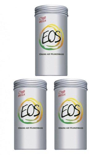 Wella EOS Pflanzentönung IX Kakao 3 x 120 g Tönung auf Pflanzenbasis
