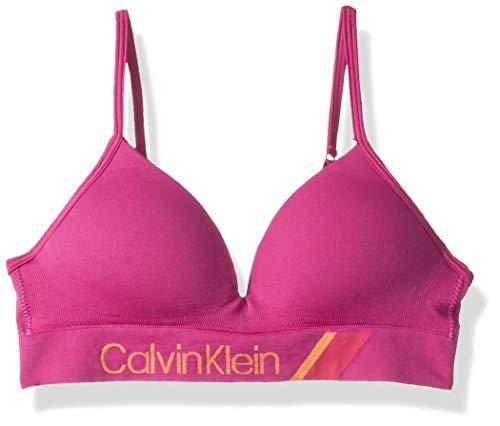 Calvin Klein Mädchen Seamless Hybrid Bra BH, Geformt-Bowie, 80A