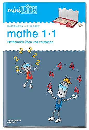 miniLÜK-Übungshefte: miniLÜK: 2. Klasse - Mathematik: Üben und verstehen 1·1: Mathematik / 2. Klasse - Mathematik: Üben und verstehen 1·1 (miniLÜK-Übungshefte: Mathematik)