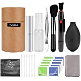 Bedee Professional Camera Lens Cleaning Kit for Optical Lens and Digital SLR Cameras including Double Sided Lens Cleaning Pen/Air Blower/Cleaning Cloth/Lens Brush/Spray Bottle/Tweezers/Wipes/Swabs