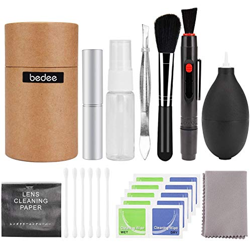 Bedee Professional Camera Lens Cleaning Kit for Optical Lens and Digital...