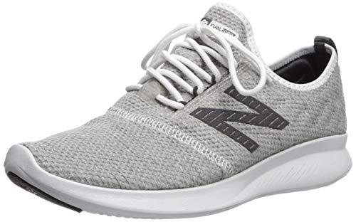 New Balance Men's Coast V4 FuelCore Running Shoe, White/Team Away Grey/Phantom, 10.5 4E US