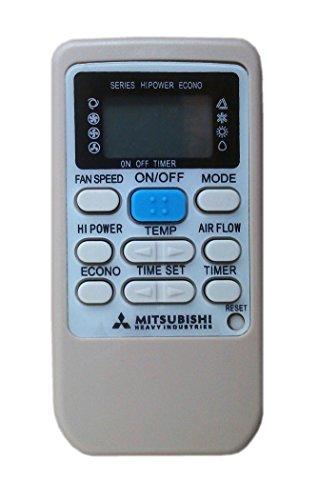 Mitsubishi Telecomando per condizionatore Heavy Industries RKS502A ** Aria condizionata, climatizzatore, Pompa di Calore, Inverter