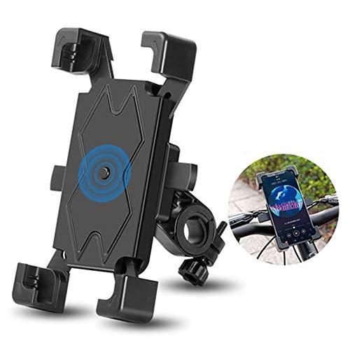 ZHANG Fahrrad Handyhalterung Universal Motorrad Handy Halterung für 3,5-6,5 Zoll Smartphone mit 360° Drehbar