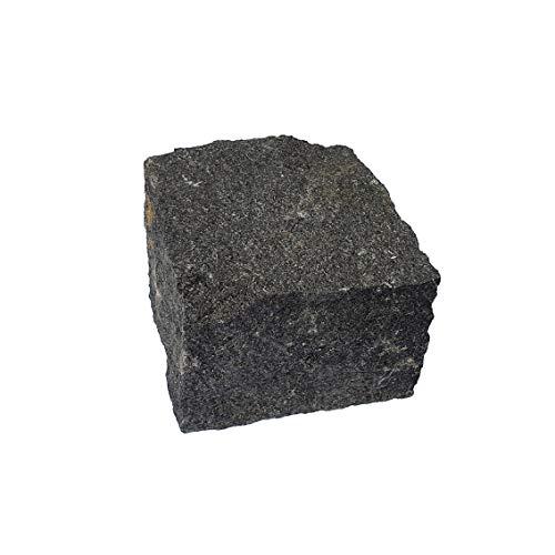 AUPROTEC Granit Pflasterstein Naturstein 9/11 schwarz DIN EN 1342: 1 Stein als Muster oder Reparaturstein