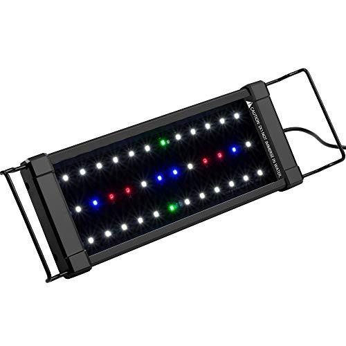 NICREW ClassicLED Plus Planted Aquarium Light, Full Spectrum LED Fish Tank Light for Freshwater...
