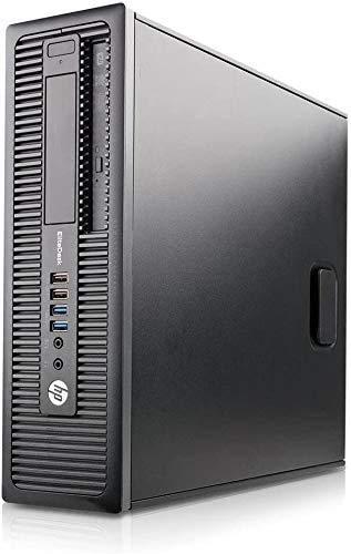 HP Elitedesk 800 G1 Sff Pc desktop, Intel Quad Core I5-4570 3,20 GHz, 8 GB di RAM, Sdd Con Windows 10 Pro (rinnovata)