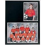 Group/Portrait - Marco de Fotos Doble de cartulina Negra con
