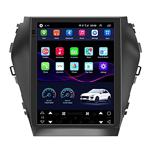 Android 10 Autoradio Per Hyundai Santa Fe IX45 2015-2017 9.7 Pollice FM RDS Radio Con GPS Navigation Wifi Bluetooth Player USB Player Volante Controllo Del Volante Link Link Ingresso Telecamera