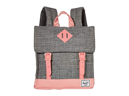 Herschel Kinderrucksack Survey, Raven Crosshatch/Flamingo Pink (grau) - 10142-03269-OS