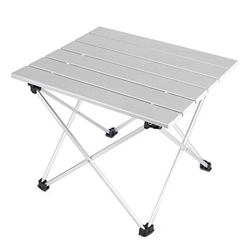 N/C Table Pliante Extérieure Portable Table De Pique-Nique Portable pour Barbecue en Alliage D'aluminium Extérieur Auto-Conduite Table De Camping pour L'extérieur Pique-Nique Plage Randonnée Pêche