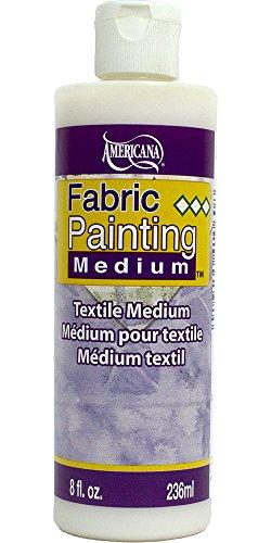 DecoArt Americana Mediums, 8-Ounce, Fabric Painting