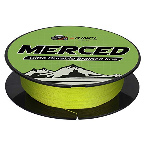 RUNCL Braided Fishing Line MERCED, 4 Strand Braided Line - Proprietary...
