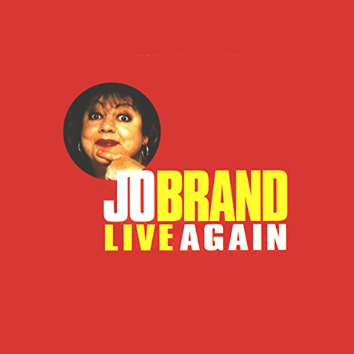 Jo Brand Live Again cover art