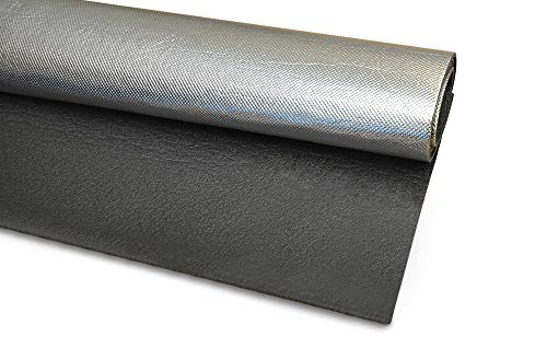 Isolmant Retrocalorifero. Telo termoriflettente termosifone/radiatori calorifero spess.3 mm formato 70x100, nero