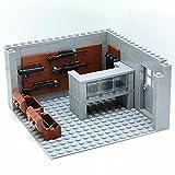 SENG Custom Militär Szenen Waffen Zubehör für SWAT Team Polizei Militär Soldaten Bausteinspielzeug für Kinder, Kompatibel mit Lego Minifiguren