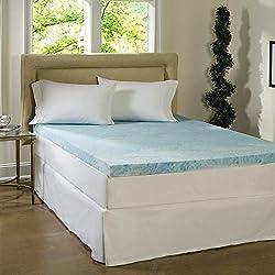 professional Simmons Beauty Rest Comforpedic Loft by Beauty Rest 4inch Flat Gel Memory Foam Mattress
