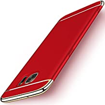 NAISU Samsung S7 Case, Galaxy S7 Back Cover, Ultra Slim & Rugged Fit Shock Drop Proof Impact Resist Protective Case, 3 in 1 Hard Case for Samsung Galaxy S7 - Red